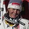 Elisabeth Görgl mit Bestzeit beim Abschlusstraining in Cortina d'Ampezzo