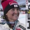 Elisabeth Görgl im Super-G von Cortina Vierte
