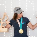 Sofia Goggia zur WM-Botschafterin 2021 in Cortina d'Ampezzo ernannt