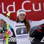 Sofia Goggia möchte in Garmisch ihre Podestserie ausbauen
