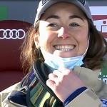 Triumph für Sofia Goggia bei der Abfahrt von St. Anton