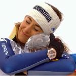 """Sofia Goggia: """"Ich denke ich bin eine würdige Abfahrts-Weltcupsiegerin."""""""