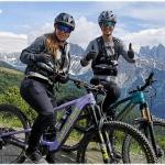 Sofia Goggia erkundete mit dem Mountainbike Südtirol