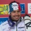 Jean-Baptiste Grange führt beim Slalom von Levi