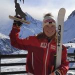 Sieg für Lisa Grill beim 2. Europacup-Super-G von Zinal