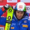 Halbzeitführung für Stefano Gross im Slalom von Val d'Isère