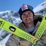 Stefano Gross bleibt seinem Ski-Ausrüster Völkl treu