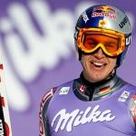 Erik Guay bei seinen Heimrennen in Lake Louise startbereit