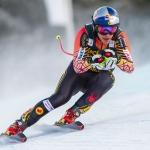 Gröden-Sieger Erik Guay hat beim Abschlusstraining in Wengen die Nase vorne