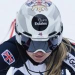 Charlie Guest kann beim letzten EC-Slalom der Saison 2018/19 in Folgaria jubeln