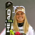 Lara Gut-Behrami fühlt sich in Garmisch-Partenkirchen pudelwohl