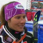 Ricarda Haaser gewinnt Europacup-Riesentorlauf von La Molina