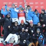 Hahnenkamm-Rennen 2013: Siegerpressekonferenz Abfahrt