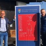 Hahnenkamm News: Tiroler Künstler Reinhold Drugowitsch gestaltete Hahnenkamm-Plakat 2020