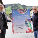 Hahnenkamm News: Plakat 2021 wird der Stadt Kitzbühel gewidmet