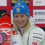 Hansdotter nach erstem Slalom-Durchgang von Méribel knapp in Front