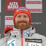 Leif Kristian Nestvold-Haugen führt nach 1. Riesentorlauf-Durchgang von Alta Badia