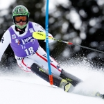 Reinfried Herbst beim Slalom in Wengen: Die Schwünge werden besser und besser
