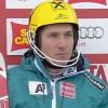 Marcel Hirscher führt beim Slalom der Herren in Alta Badia