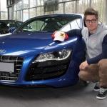 Audi R8 für Marcel Hirscher
