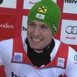 Marcel Hirscher zaubert sich beim Slalom auf dem Chuenisbärgli in Adelboden zum Sieg