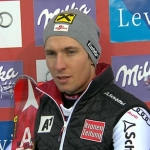 Halbzeitführung für Marcel Hirscher beim Slalom in Levi