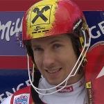 Marcel Hirscher führt nach dem ersten Durchgang in Wengen