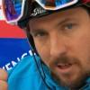 Marcel Hirscher beim ersten Slalomdurchgang in Wengen vorne