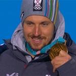Olympia 2018: Olympia-Kombi-Gold macht Marcel Hirscher überglücklich