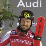 Marcel Hirscher gewinnt Hundertstel-Krimi in Levi