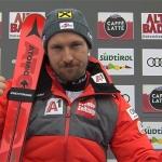 Marcel Hirscher dominiert 1. Riesenslalom-Durchgang in Alta Badia