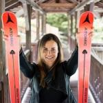 Anna Hofer stellt ihre Skier von nun an in die Ecke