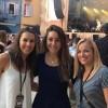 Wendy Holdener feierte mit zwei Ski-Kolleginnen in Locarno