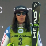 Wendy Holdeners Sieg im Slalom ist nur noch eine Frage der Zeit