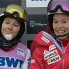 Michelle Gisin und Wendy Holdener beim Slalom in Killington in den Top Ten