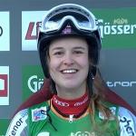 Mina Fürst Holtmann gewinnt auch 2. EC-Riesentorlauf in Folgaria/Vielgereuth