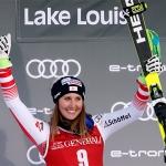 Cornelia Hütter könnte im Februar wieder in den Ski Weltcup zurückkehren