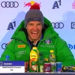 Christof Innerhofer befindet sich auf dem Weg der Besserung