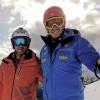 Christof Innerhofer trainierte schon wieder auf Schnee