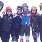 Martina Perruchon und Co. freuen sich auf eine zweite Woche in Les Deux Alpes