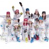 Hochbetrieb bei den Italienischen Ski-Damen