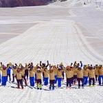 Saisonvorbereitung des italienischen Ski-Teams läuft auf Hochtouren
