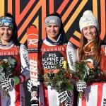 ÖSV NEWS: Österreichische Damen feiern Super-G Vierfachsieg bei Junioren WM in Are !