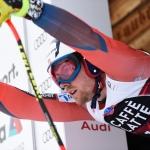 Aleksander Aamodt Kilde mit Tagesbestzeit beim 1. Abfahrtstraining in Garmisch