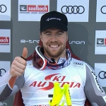 Gesamtweltcupsieger Aleksander Aamodt Kilde nimmt es wie es kommt.