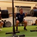 Aleksander Aamodt Kilde hat nach seiner Verletzung Muskeln aufgebaut
