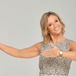 Michaela Kirchgasser schwingt das Tanzbein