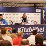 Super G Hahnenkamm Rennen 2013 in Kitzbühel: Die Siegerpressekonferenz