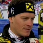 Ivica Kostelic führt beim Slalom von Adelboden