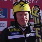 Ivica Kostelic führt nach dem 1. Durchgang beim Slalom in Kitzbühel